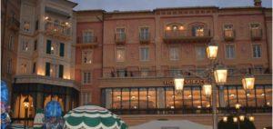 ホテルミラコスタのパーク側外観