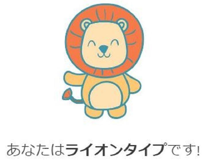自分のクロノタイプ動物 ライオン型